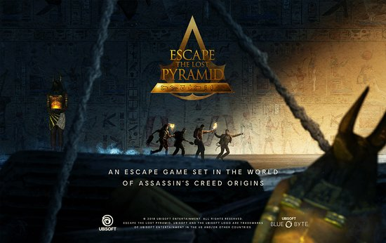 Northfield, นิวเจอร์ซีย์: Escape The Lost Pyramid is an Escape Game in Virtual Reality.  Created by UBISOFT.
