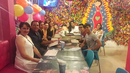 Reunión Familiar Picture Of Patrona Cocina Mexicana Cartagena