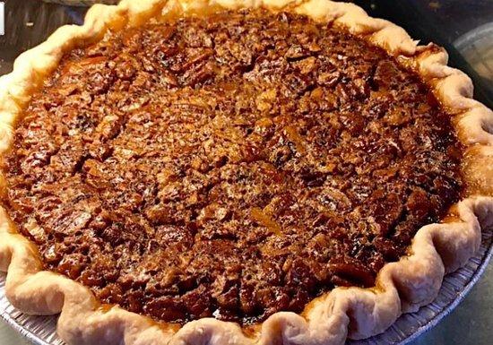 Greensboro, AL: Pie Lab Bourbon Pecan Pie.