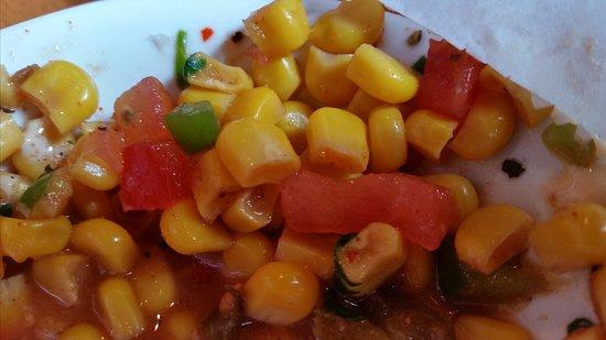 Cabo Fish Taco: Corn Salsa