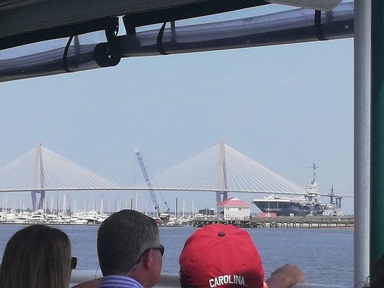 Charleston Harbor Tours: What a bridge!