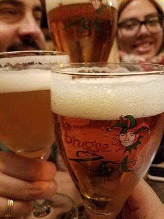 't Brugs Beertje: Degustando nuestras cervezas