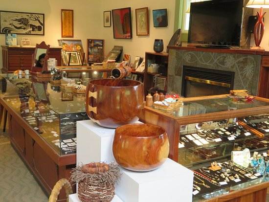 Wood Stone Craft Picture Of Volcano Art Center Hawaii Volcanoes