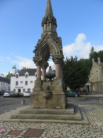 Dunkeld, UK: the Atholl Fountain