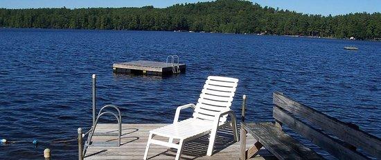Highland Lake Resort: Highland's Swim Raft