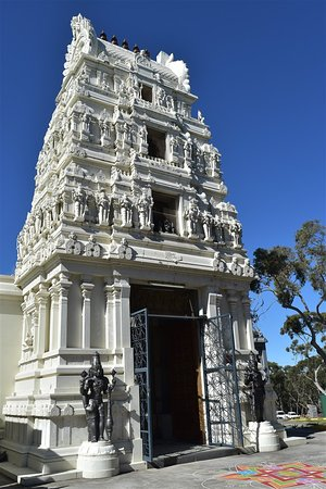 Sri Venkateswara Temple: Back of temple