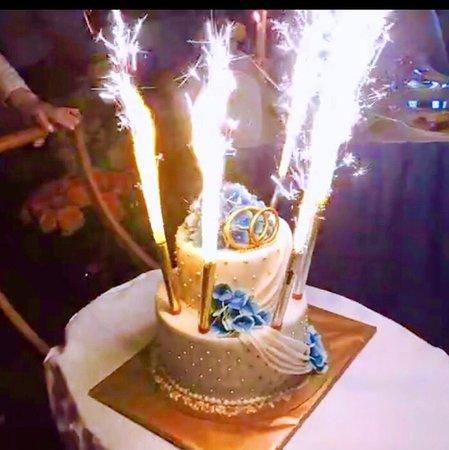 Nakhabino, Rusia: Свадебный торт!