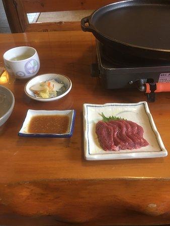 Gonohe-machi, اليابان: Horse Sashimi