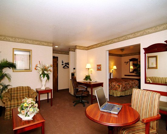 Quality Inn Santa Clara Convention Center: One-bedroom suite with king bed