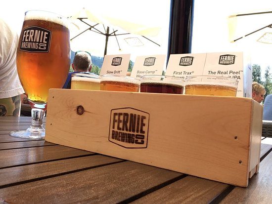 Fernie Brewing Co.: Loved the First Trax Brown Ale!