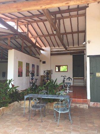 Gym picture of hotel mision santa barbara barichara tripadvisor