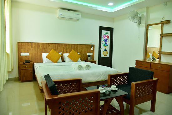 Padinjarathara, Indien: A/C Deluxe Room