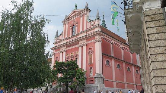 Franciscan Church (Franciskanska cerkev): Fachada 6
