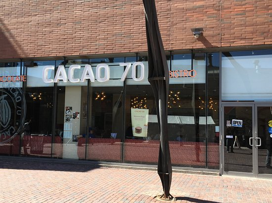 Cacao 70 Store Front
