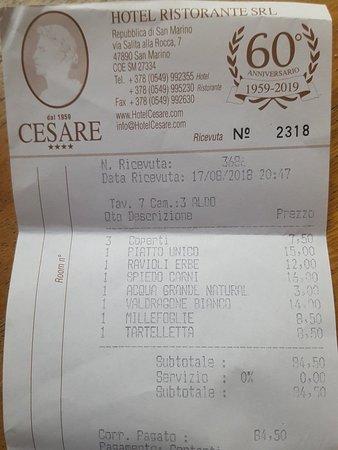 Ristorante Cesare: 20180825_084437_large.jpg