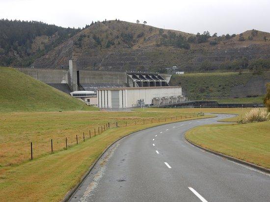Kurow, Nueva Zelanda: Lake Aviemore Spillway and Power Station
