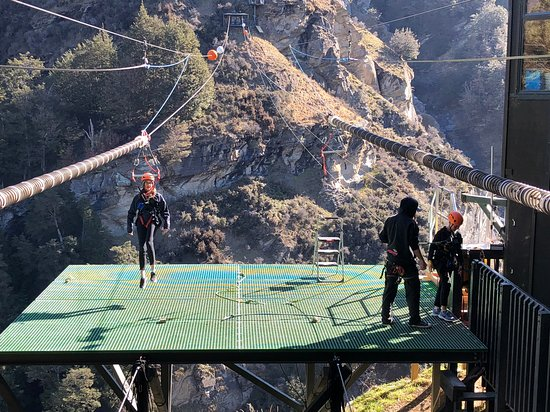 Shotover Canyon Swing & Canyon Fox Picture