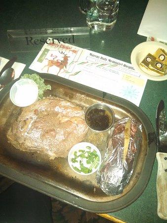 Victor, MT: Christmas Dinner
