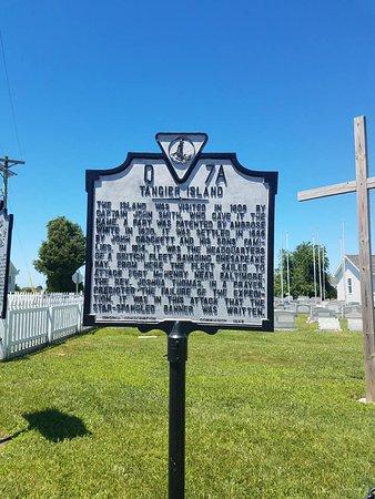Reedville, VA: Sign