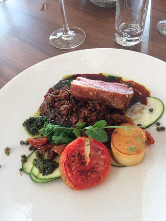 Marley Hill, UK: Lamb Rump with ragout