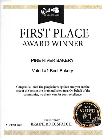 Pine River, MN: Voted # 1