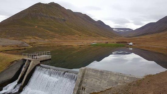 Olafsfjordur, Islandia: Future hole, opens at 2019