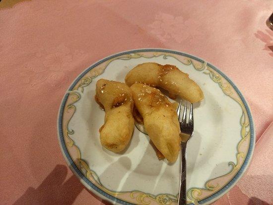 China Palast: fried banana with honey