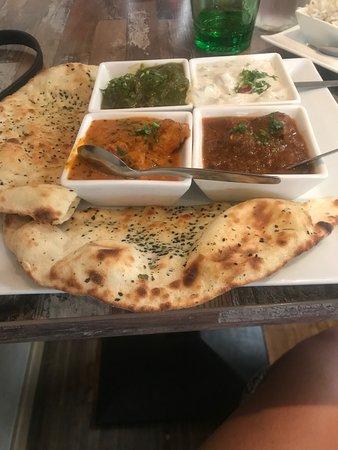 Nirvana - The Indian Restaurant: Non vegetarian thali