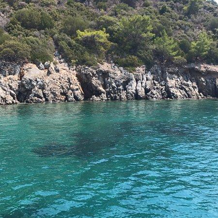 Beautiful beaches and islands / black island