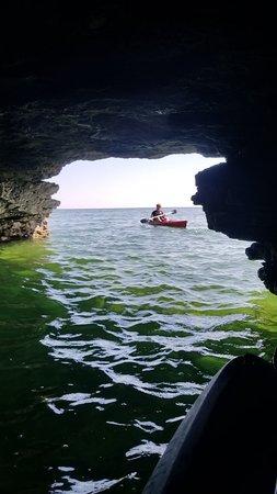 Cave Point County Park Kayak Tour With Door County Kayak