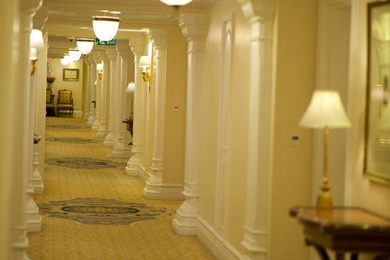 Royal Corridor for Royal Club Rooms