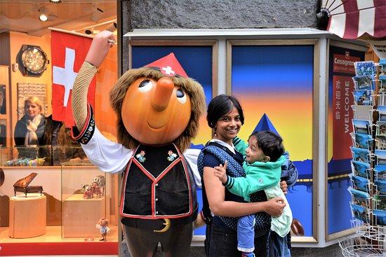 Λουκέρνη, Ελβετία: Swiss Pinocchio