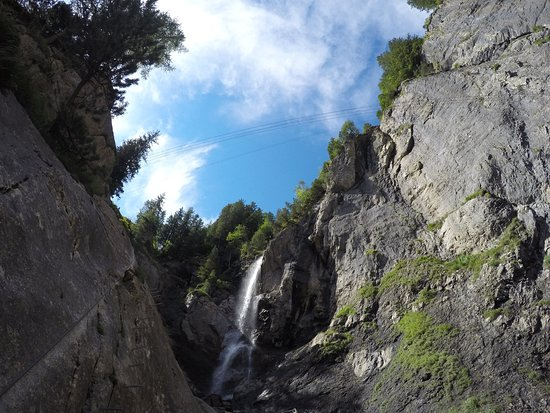 Klettersteig Allmenalp : Waterfalls picture of kandersteg allmenalp klettersteig