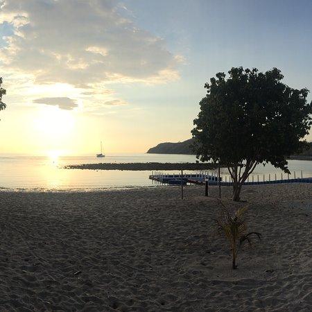 Toller Strand ausserhalb Labuan Bajo