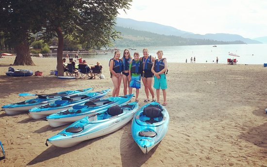 Vernon, Kanada: Ed's Mobile Kayak Rental