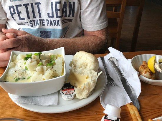 Freeport, Kanada: Seafood Chowder
