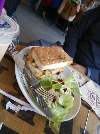 Sandwich Picture Of The Coffee Bean Tea Leaf Islamabad Tripadvisor