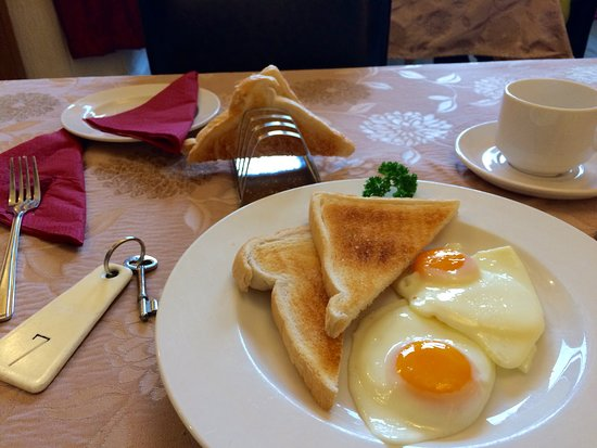Bryn Derwen Guest House: An amazing breakfast in a lovely location