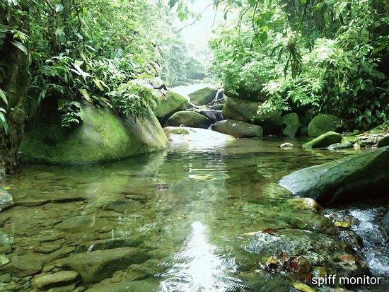 Paranapiacaba, SP: Uma das piscinas do Poço Formoso