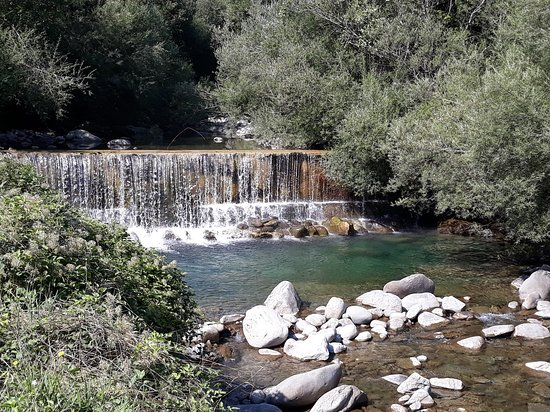 Pievepelago, Italy: il torrente