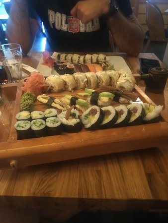 Art Sushi: set menus + extras