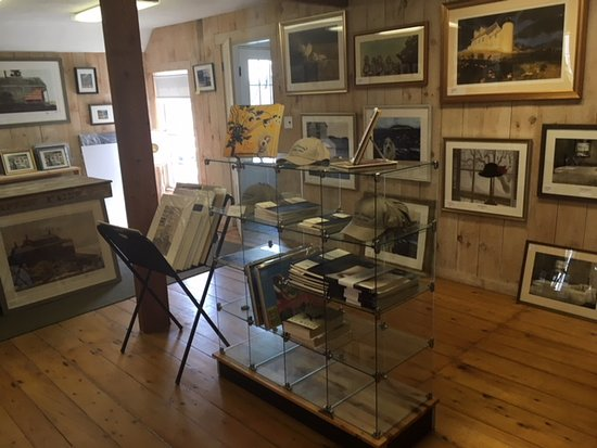 Linda Bean's Maine Wyeth Gallery