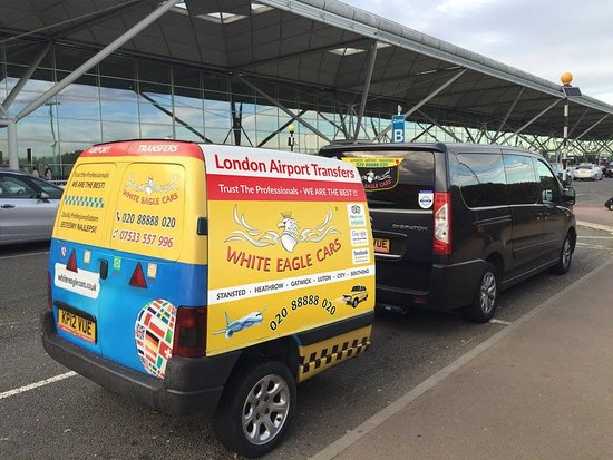 London Airport Transfers - Stansted Heathrow Gatwick Luton City Southend - White Eagle Cars TAXI