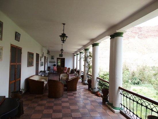 Camargo, Bolivia: Galeria con vista a la vina