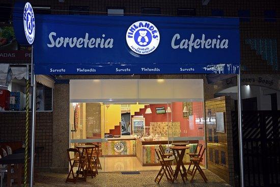 Sorvete Finlandês - Sorveteria e Cafeteria: Fachada da loja