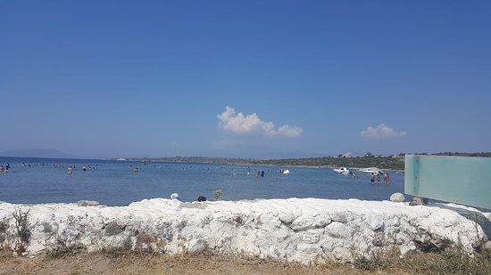Alacati, Turkey: Günizi beach ve deniz