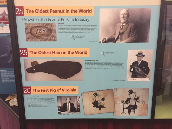 Isle of Wight County Museum: Some exhibits in the museum