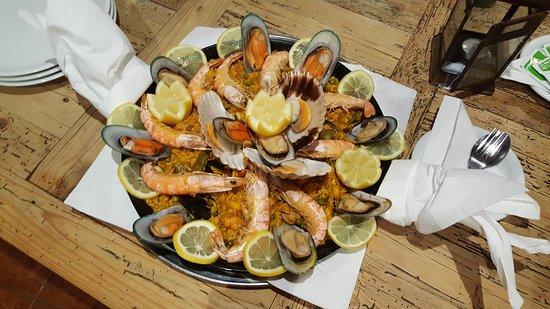 Puerto de Naos, Spain: Paella