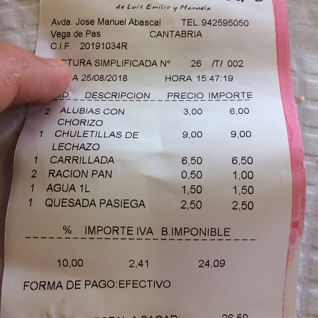 Photo0 Jpg Picture Of Restaurante El Cafe Vega De Pas Tripadvisor