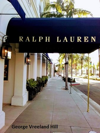 Beverly Hills, Californië: Ralph Lauren on Rodeo Drive.